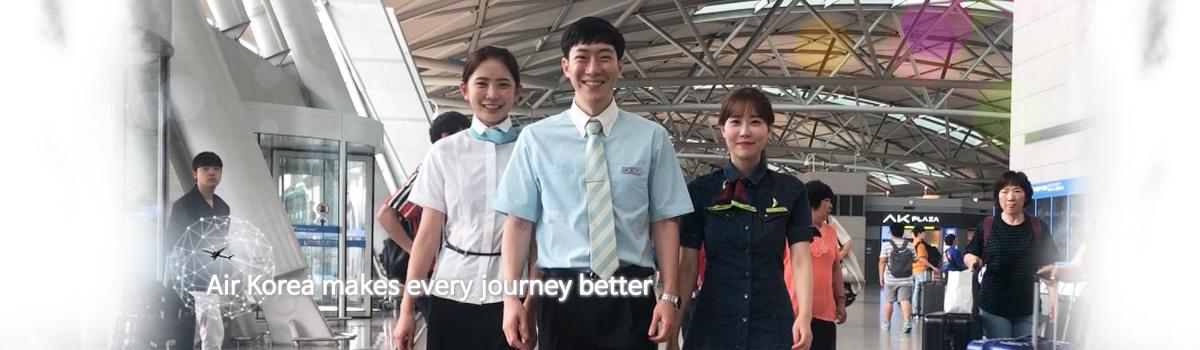 Air Korea makes every journey better